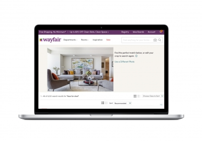 Wayfair launches photo search