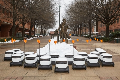 Delivery robots take over University campus