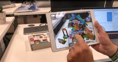 Argos app clicks with Lego AR