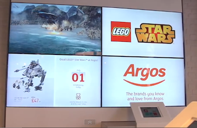 Argos replaces catalogues with digital media