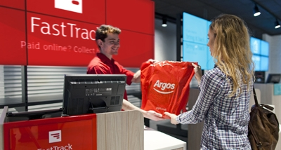 Argos tops for omnichannel experience