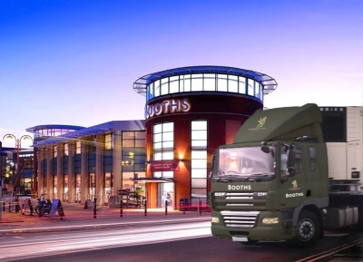 Booths Supermarkets installs fleet tracking