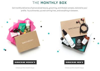 Birchbox plans London pop-up shop