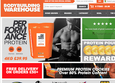 Bodybuilding Warehouse outsources PPC