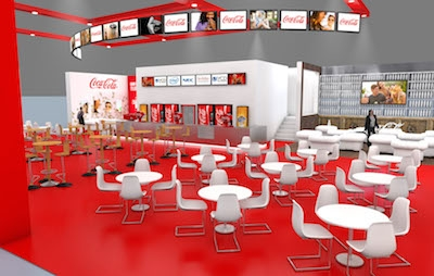 Coca-Cola showcases digital retail experience