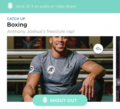 JD Sports creates music platform