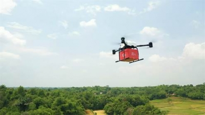 JD.com launches breakthrough drone flight