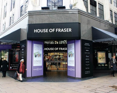 House of Fraser enhances analytics