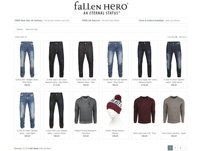 Fallen Hero introduces new responsive website