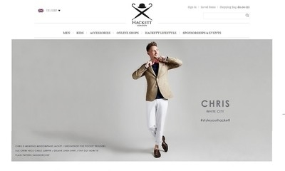 Hackett embarks on web optimisation programme