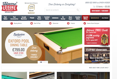 Study: Ad retargeting success for Home Leisure Direct