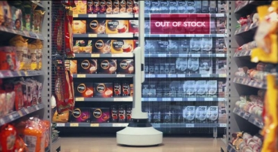 Aisle robots monitor US grocer