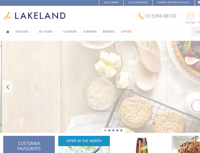 Lakeland upgrades e-commerce platform