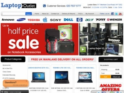 CASE STUDY: Laptop Outlet boosts online sales tenfold