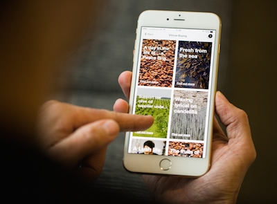 Lush launches first mobile experience