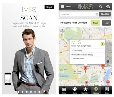 M&S innovates with mobile app updates