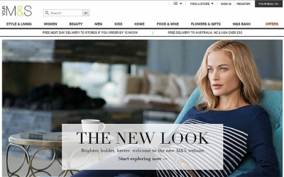 M&S plans online grocery service trial