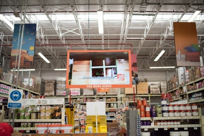 Home Depot Mexico deploys digital signage