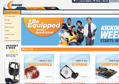Newegg expands into Ireland