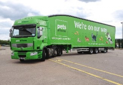 Pets at Home updates warehouse management