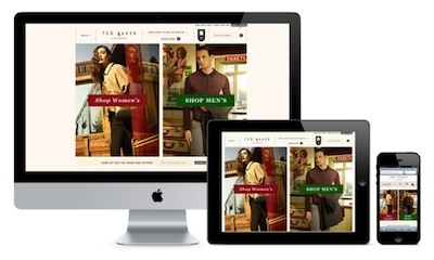 Ted Baker launches new e-commerce site