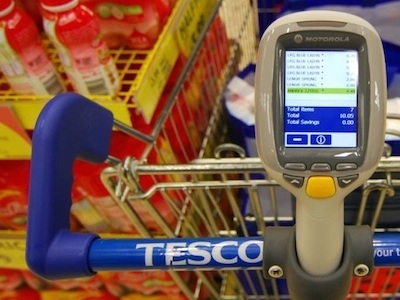 Tesco expands Scan as you Shop