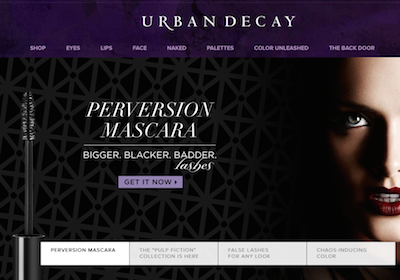 Improved online product discovery at Urban Decay