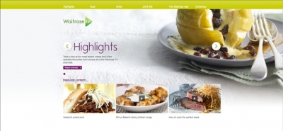 Waitrose cooks up online food TV channel