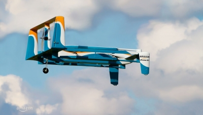 Amazon drones to use safety shroud