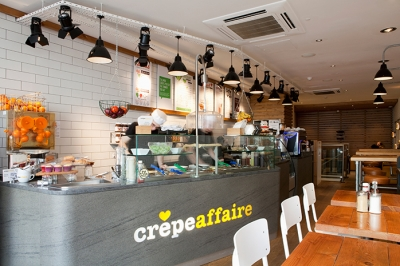 Crêpeaffaire using tablets for POS