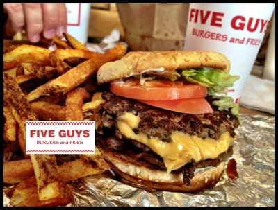 Five Guys makes tasty payments upgrade