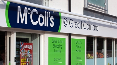 McColl's modernisation cheques