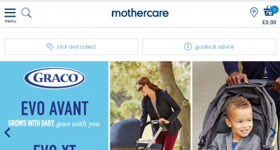 Mothercare launches new website