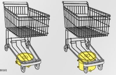 Walmart plans motorised shopping trolleys