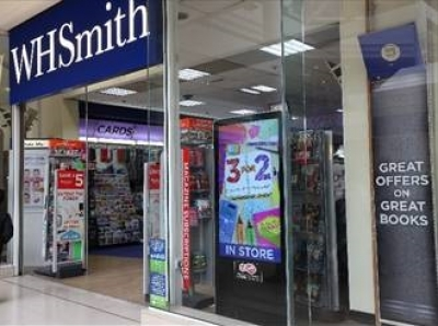 WHSmith invests in digital windows