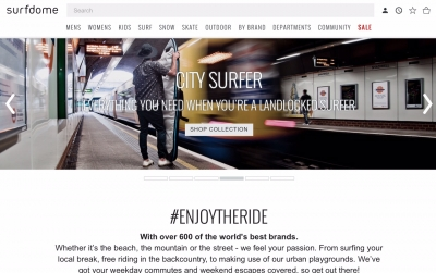 CASE STUDY: Surfdome riding the ecommerce wave
