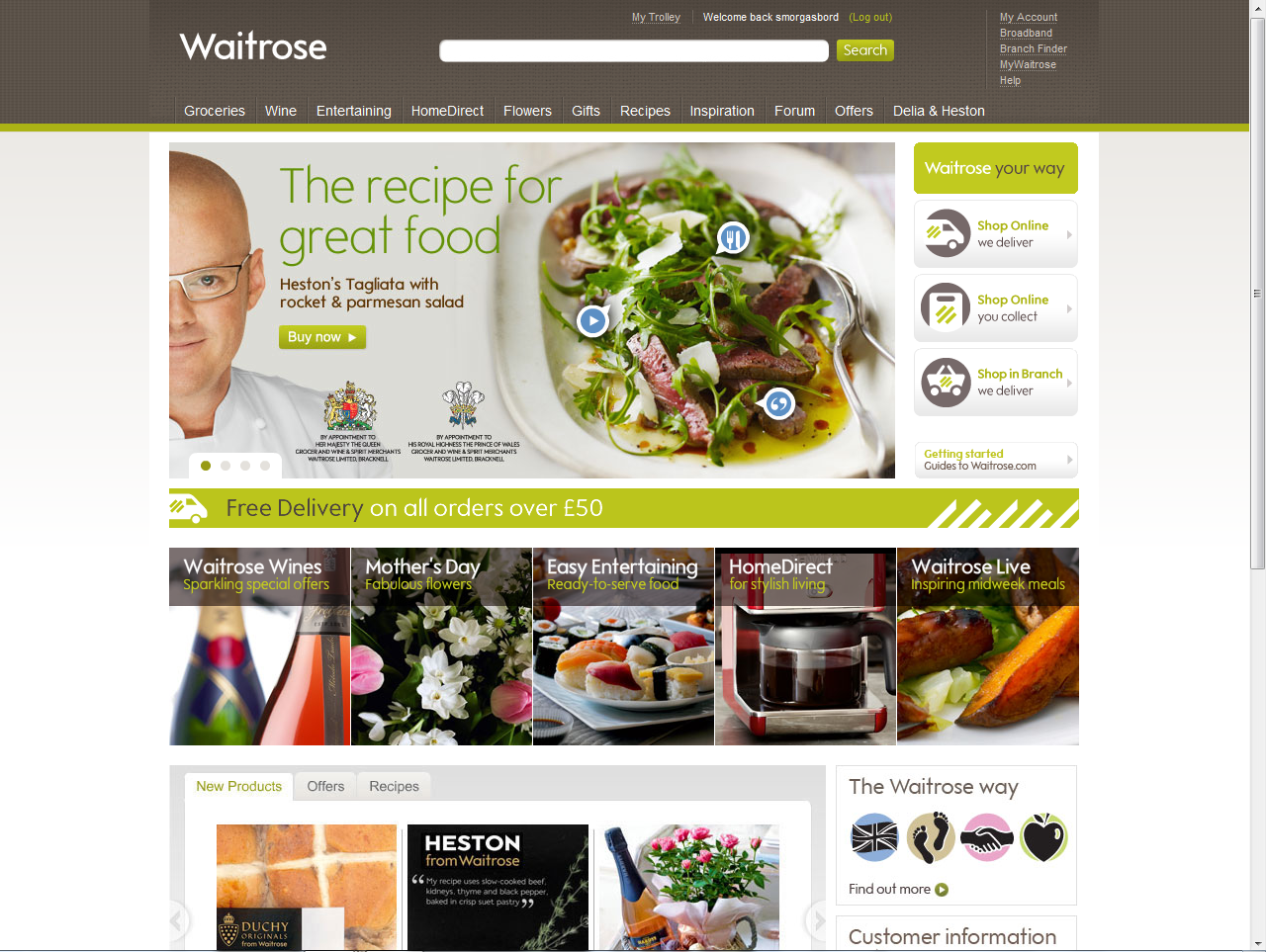 Waitrose to extend rapid delivery