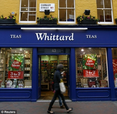 Whittard brews up new start online