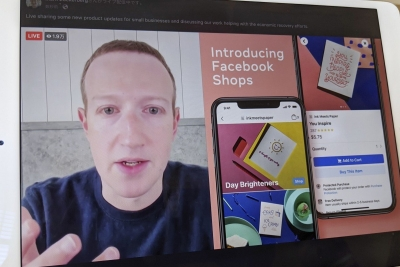 Facebook launches shopping service