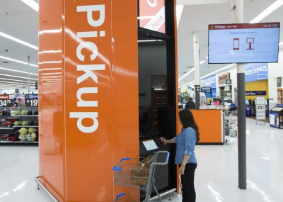 Walmart expands automated grocery kiosks
