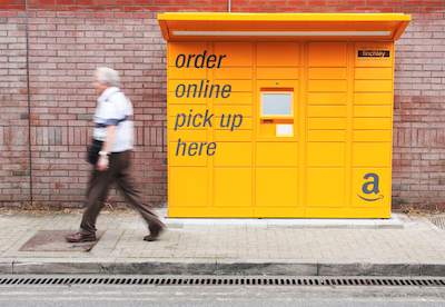 New Amazon Lockers for London Tube commuters