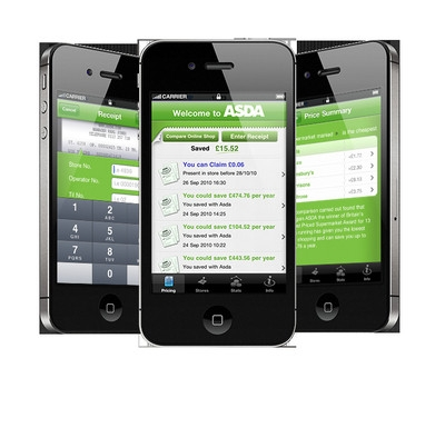 Asda launches self-scanning instore app
