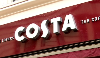 Costa to unveil global IoT coffee machines