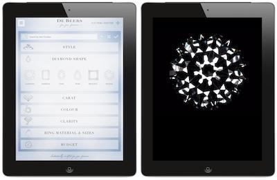 De Beers launches instore iPad service