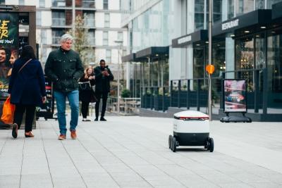 Delivery robots hit Milton Keynes centre