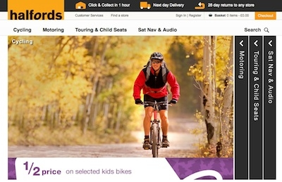 Halfords integrates product data