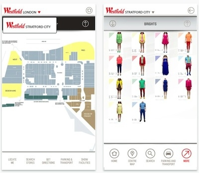 My Westfield app launches personalised experience