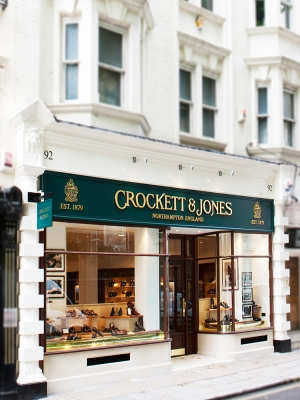 Crockett & Jones new website has licence to thrill